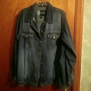 Avenue Blues Jean Jacket Size 18/20